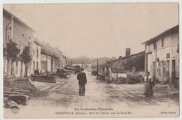 CPA 55 VARNEVILLE Rue De L' Eglise , Vue Du Nord-Est - Otros Municipios