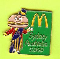 Pin's Mac Do McDonald's Maire Sydney Australie 2000 Vert - 6D17 - McDonald's