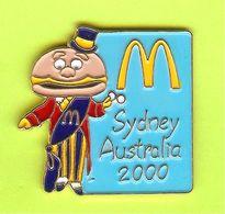 Pin's Mac Do McDonald's Maire Sydney Australie 2000 Bleu - 6D18 - McDonald's