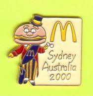 Pin's Mac Do McDonald's Maire Sydney Australie 2000 Beige - 6D19 - McDonald's