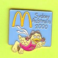 Pin's Mac Do McDonald's Birdie /Petite Oiseau Sydney Australie 2000 Bleu - 6D27 - McDonald's