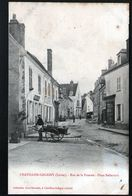 45, Chatillon Coloigny, Rue De La Poterne, Place Bellecroix - Chatillon Coligny
