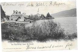 Suisse VD LE ROCHERAY Lac De Joux 1902........G - VD Vaud