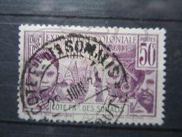 VEND BEAU TIMBRE DE LA COTE FRANCAISE DES SOMALIS N° 138 !!! - Côte Française Des Somalis (1894-1967)