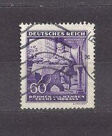 Bohemia & Moravia Böhmen Und Mähren 1943 Gest ⊙ Mi 128 Sc 85 Richard Wagner. German Occupation. - Bohemia & Moravia