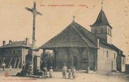 H52 - 01 - SAINT-NIZIER-LE-BOUCHOUX - Ain - L'Église - France
