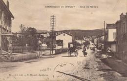 H52 - 01 - AMBÉRIEU-EN-BUGEY - Ain - Rue De Croze - Otros Municipios
