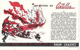 Buvard / RHUN CHAUVET / Une Histoire Des Antilles - Blotters