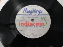 45T BABY LEMONADE Secret Goldfish 1987 UK 7 Single Test Pressing Narodnik NRK 004 - Vinyl Records