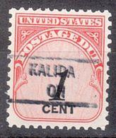 USA Precancel Vorausentwertung Preo, Locals Ohio, Kalida 841 - Vereinigte Staaten