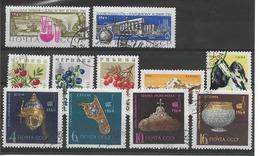 RUSSIE / URSS Année 1964 / Vrac De11 Timbres Oblitérés - Neufs