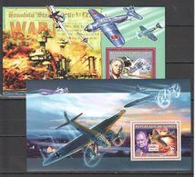 I099 2006 REPUBLIQUE DE GUINEE AVIATION MILITARY & WAR 2BL MNH - 2. Weltkrieg