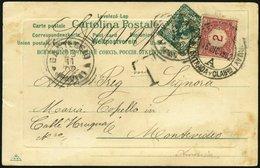 URUGUAY P 2 BRIEF, Portomarken: 1902, 2 C. Lilarot Auf Unterfrankierter Ansichtskarte Aus Italien, Feinst - Uruguay