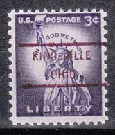 USA Precancel Vorausentwertung Preo, Locals Ohio, Kingsville 825 - Vereinigte Staaten