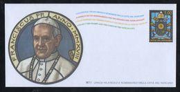 2018 - VATICANO - S01M - SET OF 1 AEROGRAMME ** - Vatican