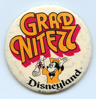 1977 Mickey Mouse Grad Nite Badge - Disney