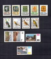 Africa Del Sur   1990  .-   Y&T  Nº  712/716-717/720-721/724 - Usados