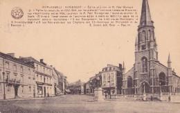 MORLANWELZ : église Et Statue De M. Abel Waroqué - Zonder Classificatie