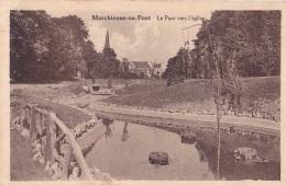 MARCHIENNE-AU-PONT : Le Parc Vers L'église - Zonder Classificatie