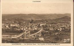 D63 - MONTFERRAND  - Vue Générale Ouest - Puy Crouelle Et Plateau De Gergovie - France