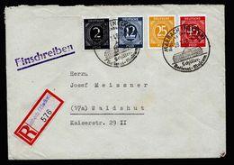 A5164) Kontrollrat R-Brief Marbach 29.7.46 M. Mi.931 Ua. - Gemeinschaftsausgaben