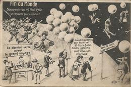 HUMORISTIQUE - SURREALISME -  FIN DU MONDE - SOUVENIR DU 19 MAI 1910 - Un  Royaume Pour Un Ballon!!! - Humour