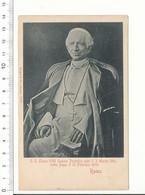 Pape Léon XIII / Leone XIII Portrait CP68/49 - Papas