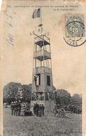 MAICHE : Les Pompiers De Montbeliard Au Concours De Maiche Le 21 Juillet 1907 - Etat (recollée) - France