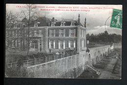 45, Chatillon Coloigny, Galeries Du XVIeme Siecle, Magnifique Terrasse, Restes D'un Chateau Des Sires De Coligny - Chatillon Coligny