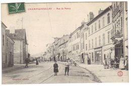 Cpa Du 54 - CHAMPIGNEULLES - Rue De NANCY - Other Municipalities