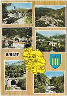 48. Gf. VIALAS. 6 Vues. 12 - France