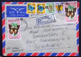 Kenya  Air Mail To Denmark ( Lot 1807 ) - Kenya (1963-...)