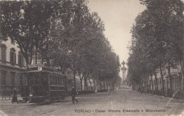 CPA - Torino - Corso Vitorio Emanuele E Monumento - Italie
