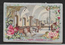 Petit Calendrier 1900 (63x43 Mm) Chocolat D'Aiguebelle - 30 Pages - Calendars
