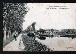 45, Chatillon Coloigny, Canal De Briare, L'ecluse En Amont - Chatillon Coligny