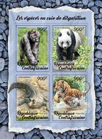 Central Africa. 2018 Endangered Species. (013a) - Gorillas