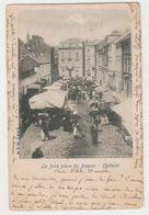 Cpa Chatelet  Marché  1900 - Châtelet