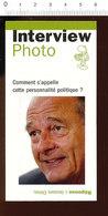 2 Scans Jacques Chirac Homme Politique / Requin Fossile Vivant (Vrai) 215/5 - Unclassified