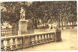 France - Gers - Auch - Statue De L'Intendant D'Etigny Et Allées Portant Son Nom - Combier Macon - Dentelée - 4673 - Auch