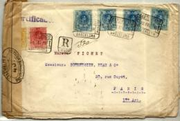 España Nº 269-271-274 (4) En Sobre - 1889-1931 Kingdom: Alphonse XIII