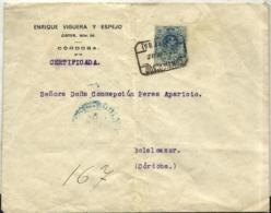 España Nº 277 En Sobre - 1889-1931 Kingdom: Alphonse XIII