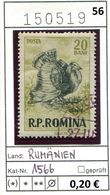 Rumänien - Roumenie - Rumania - Michel 1566 - Oo Oblit. Used Gebruikt - Vögel Birds Oiseaux Vogels - 1948-.... Repúblicas
