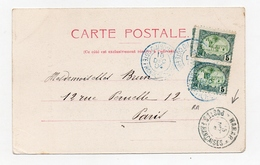 !!! COTE DES SOMALIS, CPA DE 1904 CACHET HARAR POSTES FRANCAISES - Côte Française Des Somalis (1894-1967)