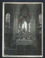 RELIGION PHOTO ORIGINALE 18X24 DE L INTERIEUR EGLISE À LAGNY SUR MARNE 1964 COLLECTION G BLONDELEAU : - Autres