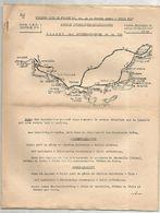 Notice ,PLAGES DES BOUCHES DU RHONE , Touring Club De France , Guise T.C.F. 9 Pages ,2 Scans,  Frais Fr 1.75 E - Geographical Maps