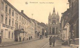 Péruwelz - CPA - Bonsecours - Grand'rue Et La Basilique - Péruwelz