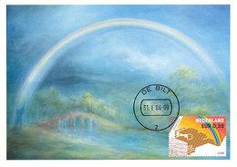 D32806 CARTE MAXIMUM CARD FD 2004 NETHERLANDS - WEATHER RAINBOW CP ORIGINAL - Climat & Météorologie