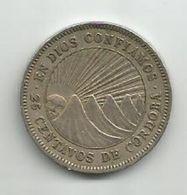 Nicaragua 25 Centavos 1956. - Nicaragua