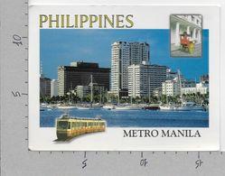 CARTOLINA NV FILIPPINE - MANILA - Coastline Of Manila Bay - 13 X 17 - Filippine