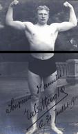 CATCHEUR OU BOXEUR ALLEMAND CP PHOTO  TRES RARE        1914    DDD - Postcards